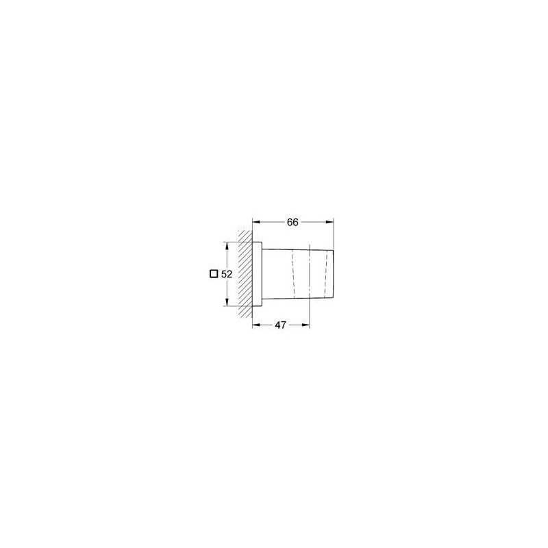 grohe euphoria cube uchwyt prysznicowy cienny 27693000. Black Bedroom Furniture Sets. Home Design Ideas