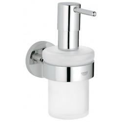 Grohe Essentials Uchwyt + Dozwnik na mydło (40369000 + 40394000)