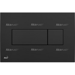 AlcaPlast M378 Czarny-Połysk Przycisk Sterujący