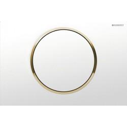 Geberit Sigma 10 Biały/Pozłacany Przycisk