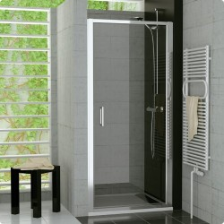 SanSwiss Top-Line Drzwi Prysznicowe TOPP NA WYMIAR (80 - 100cm) Szkło Przezroczyste TOPPSM25007
