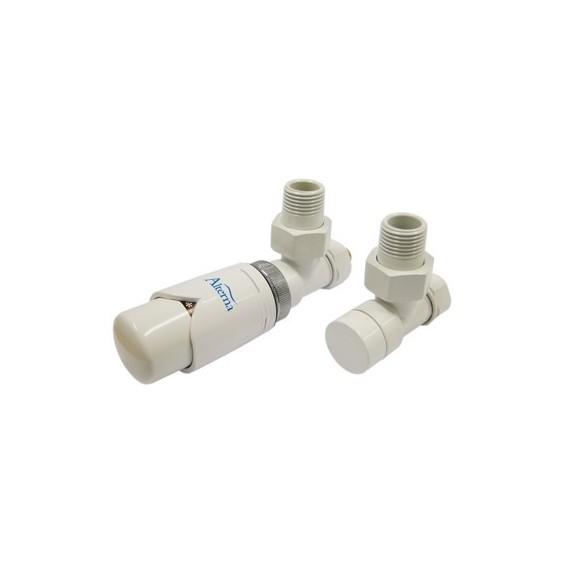 Alterna Iris Zestaw zaworów z termostatem do grzejnika ALTN-965022 Cu