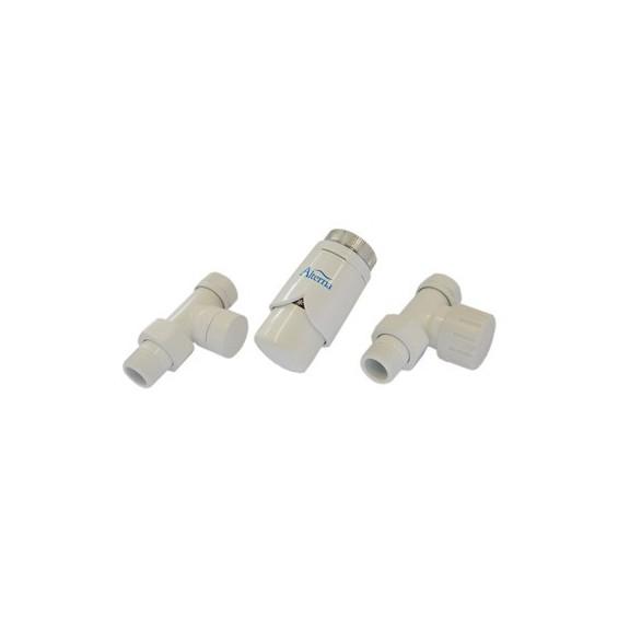 Alterna Iris Zestaw zaworów z termostatem do grzejnika ALTN-965026 PEX