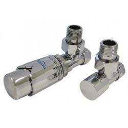 Alterna Iris Zestaw zaworów z termostatem do grzejnika ALTN-965024 PEX