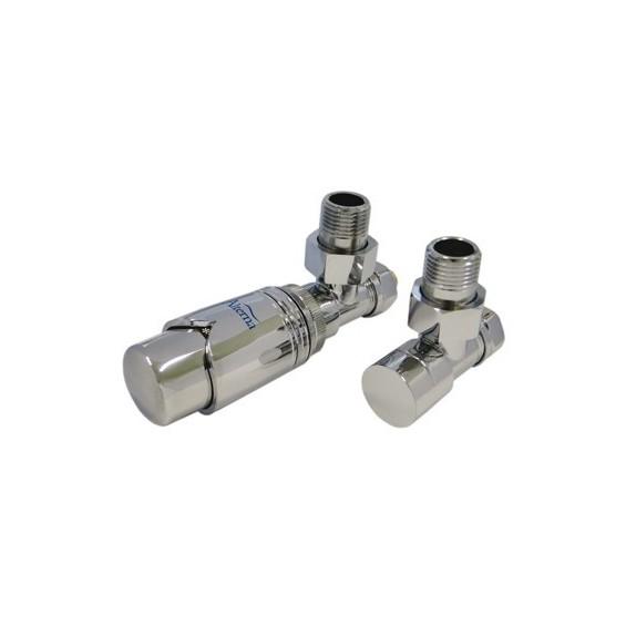 Alterna Iris Zestaw zaworów z termostatem do grzejnika ALTN-965023 Cu