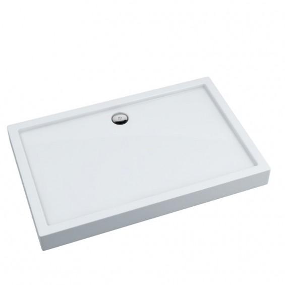 Schedpol Competia Brodzik akrylowy prostokątny 120x80