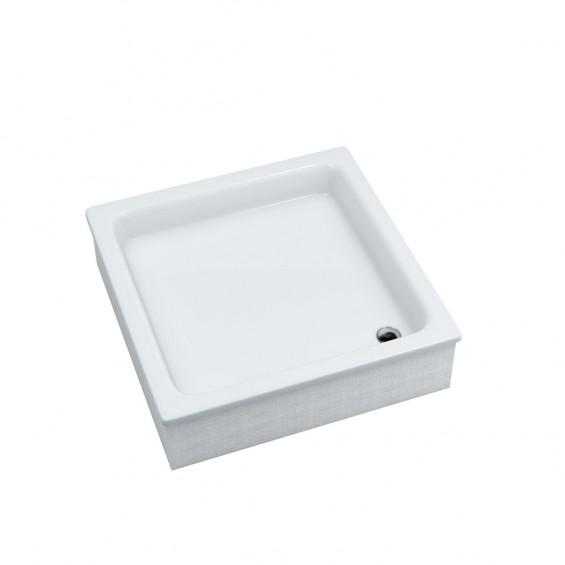 Schedpol Grawello Brodzik akrylowy kwadratowy 80x80