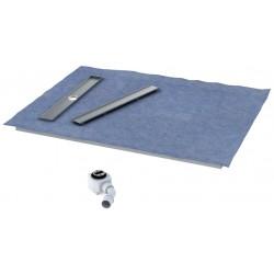 Schedpol Stabilsound Płyta spadkowa z odpływem liniowym 100x90 cm