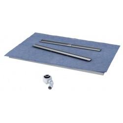 Schedpol Stabilsound Płyta spadkowa z odpływem liniowym 120x70 cm
