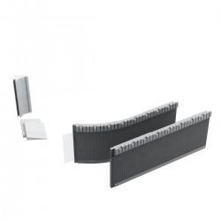 Schedpol Standard Obudowa do brodzika półokrągłego 160x36 cm lub kwadratowego 90x90 cm