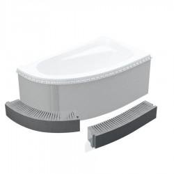 Schedpol Standard Stopień elastyczny do wanny prostokątnej lub półokrągłej