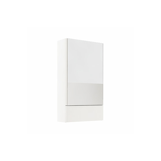 Koło Nova Pro 46 Biały Połysk Szafka Wisząca z Lustrem (88430)
