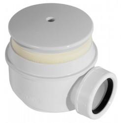 Alca Syfon brodzikowy kryty biały A47B Ø50
