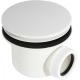 Alca Syfon brodzikowy kryty biały A49B Ø90