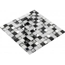 Goccia Crystal Mozaika 30 cm x 30 cm CR5039 2,3 cm x 2,3 cm