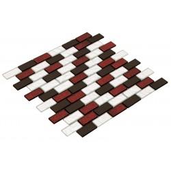 Goccia Crystal Mozaika 30 cm x 30 cm CR3016 2,3 cm x 4,8 cm