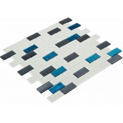 Goccia Crystal Mozaika 30 cm x 30 cm CR3024 2,3 cm x 4,8 cm