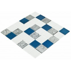 Goccia Crystal Mozaika 30 cm x 30 cm CR5502 4,8 cm x 4,8 cm