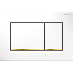 Geberit Sigma 30 Biały/Złoty Przycisk