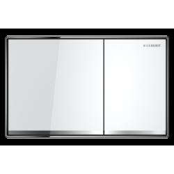 Geberit Sigma 60 Szkło Białe Przycisk
