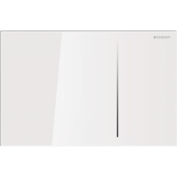 Geberit Sigma 70 Szkło Białe Przycisk