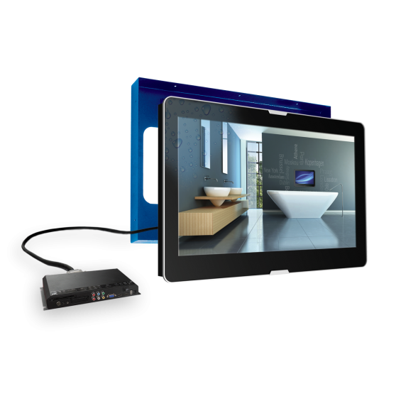 AquaSound 27'' Led TV Basic Wodoodporny Telewizor do łazienki ASV 2769 N