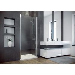 Besco Sinco 80 Drzwi Prysznicowe Wahadłowe Pojedyncze 80x195