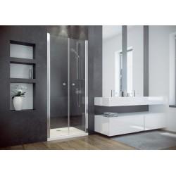 Besco Sinco Due 80 Drzwi Prysznicowe Wahadłowe Podwójne 80x195
