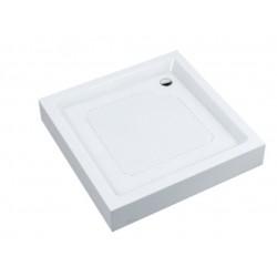 Alterna Brodzik akrylowy laminowany kwadratowy 80x80 185758