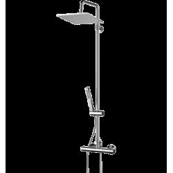 Omnires Mini System Prysznicowy Natynkowy Termostatyczny MI1544-X/O