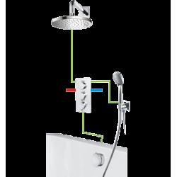 Omnires Y Kompletny Łazienkowy System Podtynkowy SYS Y30