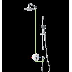 Omnires Y Kompletny Łazienkowy System Podtynkowy SYS YT01