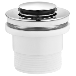 Omnires Syfon Umywalkowy Ozdobny Wzór Cylindryczny A186