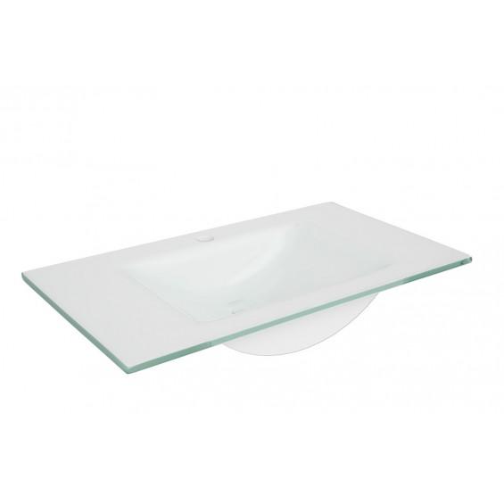 Defra Puro 80 Umywalka z Białego Szkła (3074)