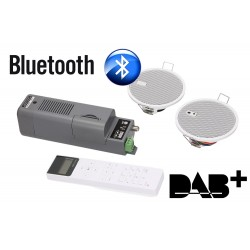 Kb Sound iSelect 2,5 Głośniki Białe + Moduł Bluetooth