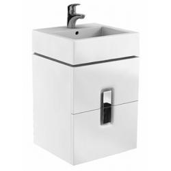 Koło Twins 60 Białe Szafka z 1 szufladą z umywalką (89498+ L51160)