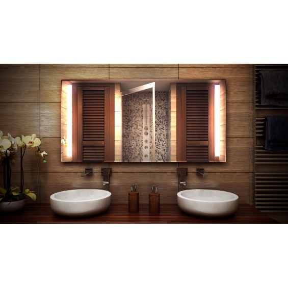 MF Design MFDDX Lustro z oświetleniem LED 80 x 60 cm (MFDDX80x60)