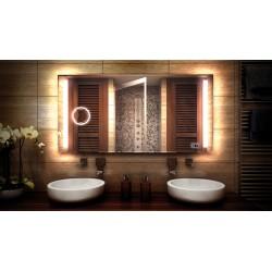 MF Design MFDHDX Lustro z oświetleniem LED 120 x 70 cm (MFDHDX120x70)
