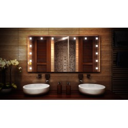 MF Design MFDASM Lustro z oświetleniem LED 100 x 80 cm (MFDASM100x80)