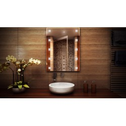 MF Design MFDLE Lustro z oświetleniem LED 50 x 60 cm (MFDLE50x60)