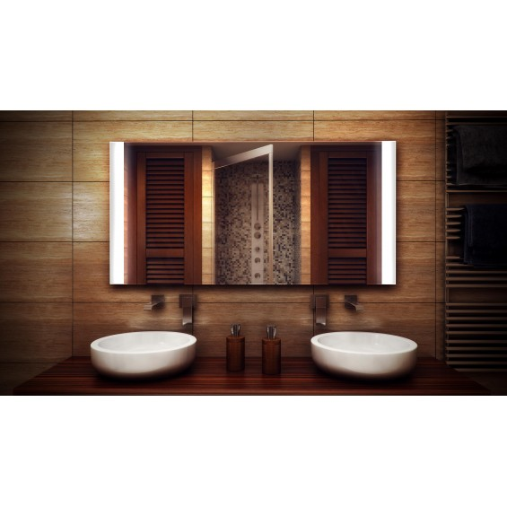 MF Design MFDOI Lustro z oświetleniem LED 70 x 60 cm (MFDOI70x60)