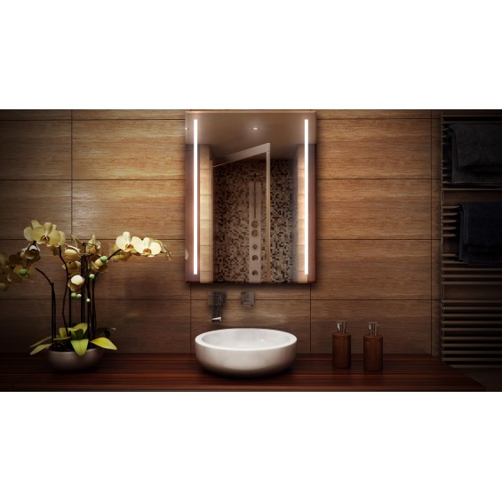 MF Design MFDPG Lustro z oświetleniem LED 50 x 70 cm (MFDPG50x70)