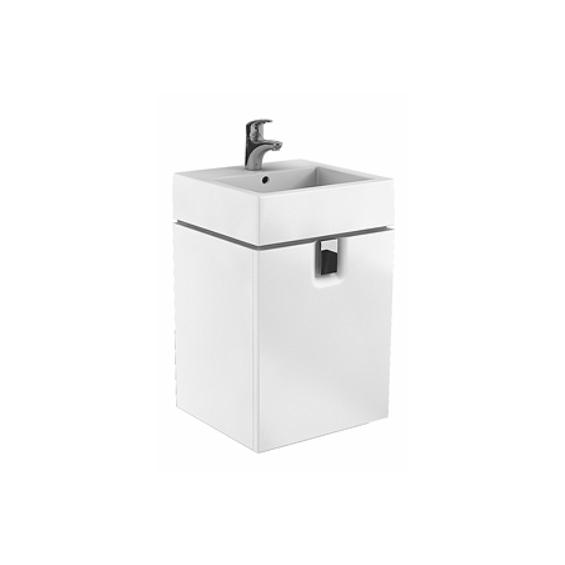 Koło Twins 50 Białe Szafka z umywalką (L59032 + L51150)