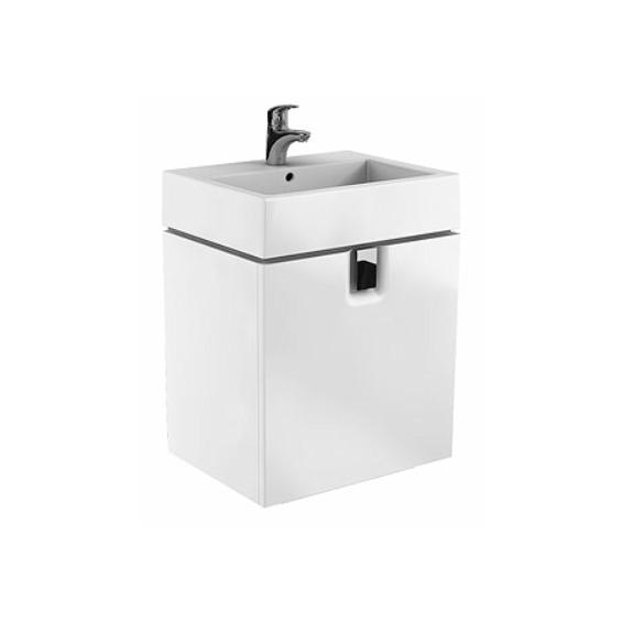 Koło Twins 60 Białe Szafka z 1 szufladą z umywalką (89498+ 51160)
