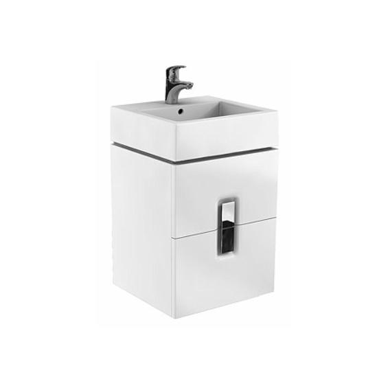 Koło Twins 50 Białe Szafka z 2 szufladami z umywalką (89489+ L51150)