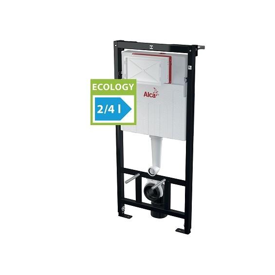 AlcaPlast AM101 Sadromodul 1120E (AM101/1120E) Stelaż - spłuczka podtynkowa do suchej zabudowy