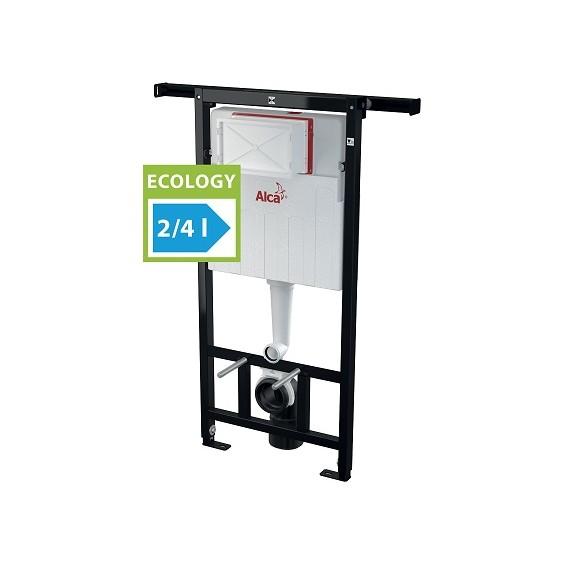 AlcaPlast AM102 Jadromodul 1200E (AM102/1200E) Stelaż - spłuczka podtynkowa do suchej zabudowy (z belką rozporową)