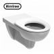 Koło Nova Pro Bez Barier Miska ustępowa lejowa Rimfree dla osób niepełnosprawnych z deską (M33520+Deska)