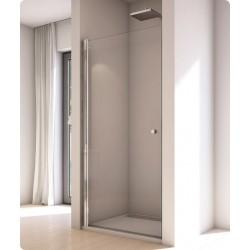 SanSwiss Solino Drzwi Prysznicowe SOL1 NA WYMIAR 70 - 100 cm Szkło Przezroczyste SOL1SM15007