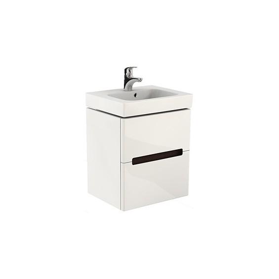 Koło Quattro 60 Białe Szafka z umywalką (89353 + K61460)